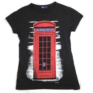 London Telephone Booth Tee